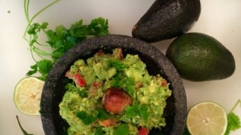 THE BEST GUACAMOLE- EVER!