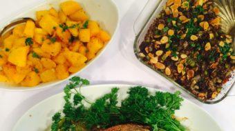 HEALTHY TURKEY DINNER